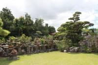 南城市玉城の個人のお庭